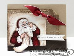 Around the World Stampin'Up! Challenges: AW05: THEME: Old Christmas / Noël Ancien / Viej Navidad