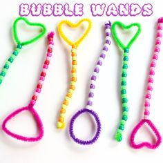 Crafts For Kids To Make At Home - Bubble Wands - Cheap DIY Projects and Fun Craft Ideas for Children - Cute Paper Crafts, Fall and Winter Fun, Things For Toddlers, Babies, Boys and Girls to Make At Home http://diyjoy.com/diy-ideas-for-kids-to-make