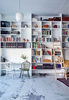 Best diy shelves, Bookshelf Ideas for Creative Decorating Projects Tags: booksh. - Best diy shelves, Bookshelf Ideas for Creative Decorating Projects Tags: booksh… - Floor To Ceiling Bookshelves, Cool Bookshelves, Bookshelf Design, Bookshelf Ideas, Bookshelf Decorating, Bookshelf Wall, Decorating Ideas, Bookshelf Styling, Homemade Bookshelves