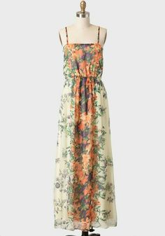 Ruche.com maxi dress