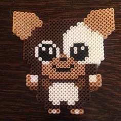 Gizmo (Gremlins) perler beads by meganmorphine