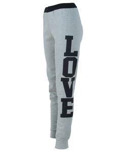 Grey Love Print Track Pants  #Chiarafashion