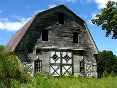 Barn, Granby, Massachusetts by ScribeGirl, via Flickr