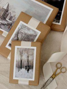 DIY kerstcadeauverpakking | ELLE