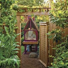 What backyard chicken wouldn't want to roost here? | Photo: Mike Jensen | thisoldhouse.com