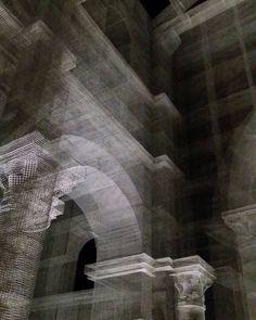 Photo by Fabio Alessandro Fusco | Edoardo Tresoldi | Ricostruzione della Basilica Paleocristiana di Siponto | Inaugurazione 11.03.2016 | Siponto Manfredonia [Fg] | Puglia Italy