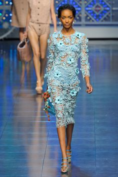 Dolce & Gabbana at Milan Fashion Week Spring 2012 - Livingly