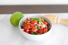 How to Make Fresh Salsa, Step-by-Step