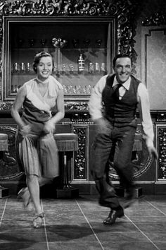 March 1952, Debbie Reynolds and Gene Kelly in Singing in the Rain