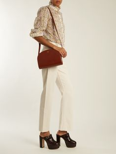 White jeans and blouses