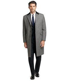 winston chesterfield coat : brooks brothers