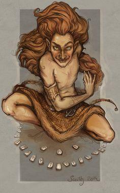 rune dance by SceithAilm.deviantart.com on @DeviantArt