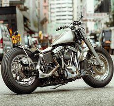 To me, cars, motorcycles and planes can be beautiful. Harley Davidson Road King, Harley Davidson Trike, Harley Bobber, Harley Bikes, Bobber Motorcycle, Bobber Chopper, Motorcycle Clubs, Cool Motorcycles, Motorcycle Garage