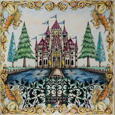 Další z #enchantedforest co mě bavil :-) #johannabasford #jardimsecreto #jardimcolorido #secretgarden