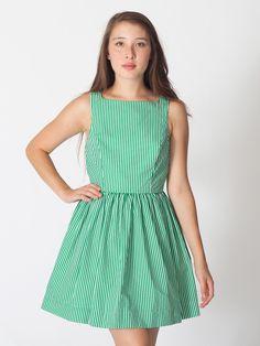 American Apparel - Stripe Sun Dress #AmericanApparel #PinATripWithAA