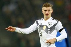 Toni Kroos of Germany reacts during the international friendly match between Germany and France at RheinEnergieStadion on November 14 2017 in Cologne...
