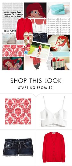 """""""BOTTP~ You're as Red as Ariel's Hair ♥"""" by mayaml18 ❤ liked on Polyvore featuring Oris, H&M, FRUIT, Zenggi, Cole Haan, thepolyvoreprincesses, toofabulous, imsohappy and thankyou"""