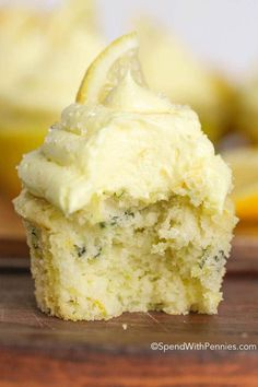 Lemon Zucchini Cupcakes - Spend With Pennies