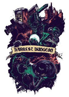 Darkest Dungeon Fanart by Antoine Cebrant on Behance