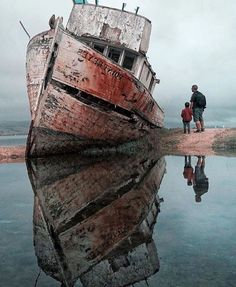 Point Reyes Shipwreck in Inverness, California. Photography Via @Naturee by @maynorchrome