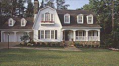 I love this house!  The entire second floor needs to be reconfigured, but the front gambrel is fabulous!