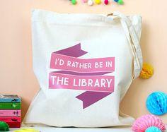Tea and Books Tote Bag. Book Bag. Drink Tea. Tea Lover. Tea