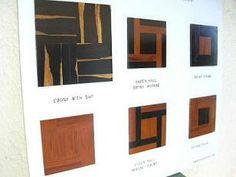 Hardwood floors made of exotic woods, colours & motives Ebony, mopane, pink ivory