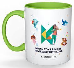 Kyrascope Branded Milk Mug ( Green Front)