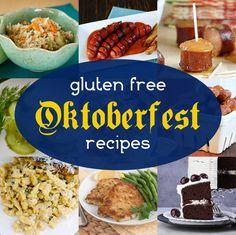 Gluten Free Oktoberfest Recipes!