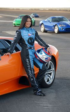 Danica Patrick is the real Catwomen