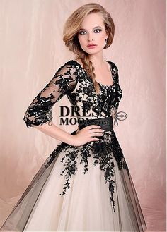 I like this - Chic Tulle Scoop Neckline Half SleevesTea-length A-line Prom Dress. Do you think I should buy it?