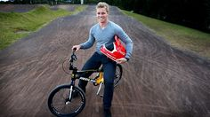 Sam Willoughby, professional BMX rider. Represented Australia at the London Olympics 2012.