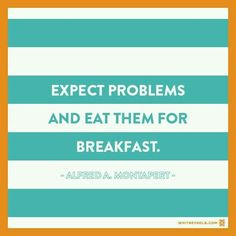 Eat Expected Problems