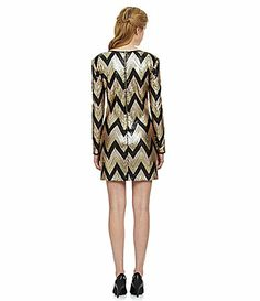 Chevron sequin dress  http://rstyle.me/n/dw8gpnyg6 New yearssss!