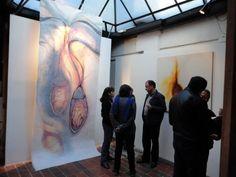 Inauguración Entretelas Entresuelos,  exposición de apertura del Taller Galería. diciembre 8 de  2012