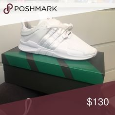 Adidas adv eqt Brand new never worn. Box & shoes still in perfect condition. Size 7.5 women, 6.5 men! Adidas Shoes Athletic Shoes