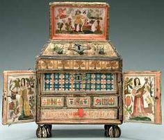 17th century casket