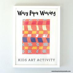 Wavy Paper Weaving C