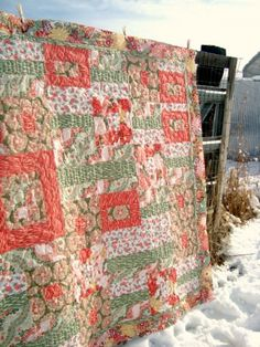 Free quilt pattern & tutorial