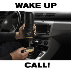 Give yourself a boost Driving is like a shot of espresso in the morning! Shop now with your favorite Barista! #espresso #italian #fiat