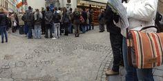 Nous sommes allés il y a quelques temps avec notre sac besace à Bruxelles voir le Mineken pis