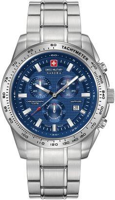 Swiss Military Hanowa Crusader 06-5225.04.003 Horloge Militair b9c6d88ff0