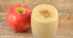 A simple and refreshing smoothie, this apple banana smoothie is a delightful pick-me-up with loads of vitamins, minerals, and fiber.
