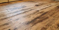 How to restore the old floorboards under our Victorian house