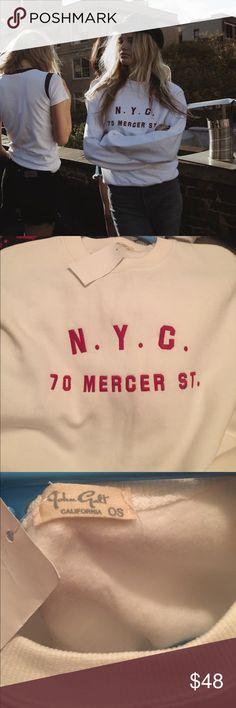 NWT Brandy Melville sweatshirt NWT Brandy Melville Sweaters