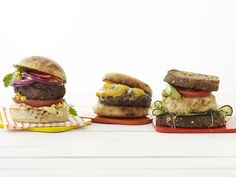 50 Ways to Build a Burger from #FNMag #RecipeOfTheDay #GrillingCentral