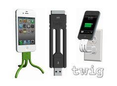 Twig iPhone Charger And Tripod[Gagets]