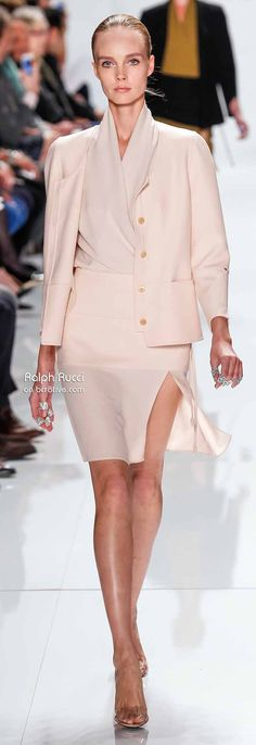 Ralph Rucci Spring 2014 New York Fashion Week » #NYFW