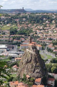 Saint-Michel d'Aiguilhe, Le Puy-en-Velay, France [Auvergne]