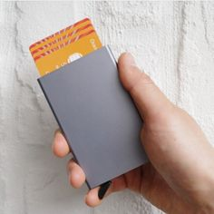 Find More Card & ID Holders Information about 2016 mini and slim design pop up credit card ID card protector long card holder 5pcs cards,High Quality card holder,China card holder designer Suppliers, Cheap designer card holder from RFID Wallet Store on tpkwallet.Aliexpress.com